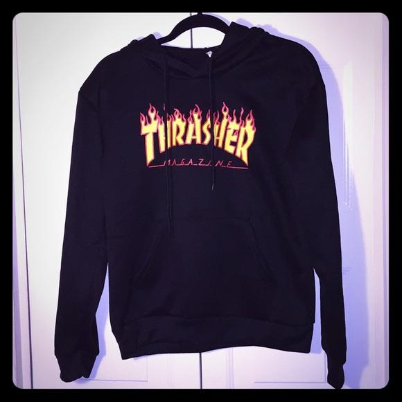 117f16501 Thrasher hoodie size M (Boy)